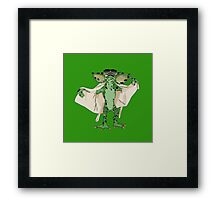 Gremlin Flasher Framed Print