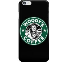 Woody's Coffee iPhone Case/Skin