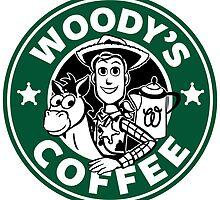 Woody's Coffee by Ellador