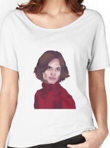 Matthew Gray Gubler- Criminal Minds Women's Relaxed Fit T-Shirt