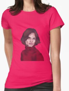 Matthew Gray Gubler- Criminal Minds Womens Fitted T-Shirt