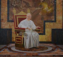 Pope Francis Portrait by Oscar Casares