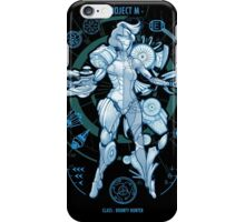 PROJECT M - Blue Print Edition iPhone Case/Skin