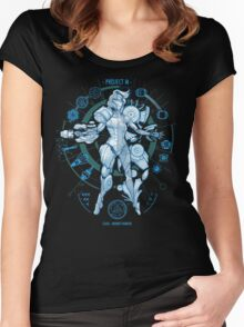 PROJECT M - Blue Print Edition Women's Fitted Scoop T-Shirt