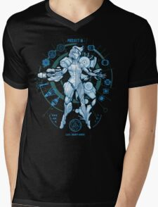 PROJECT M - Blue Print Edition Mens V-Neck T-Shirt