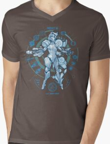 PROJECT M - Blue Print Edition Mens V-Neck T-Shirt