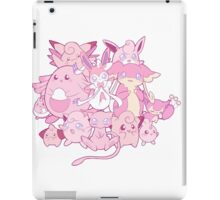 Cute pink Pokemon iPad Case/Skin