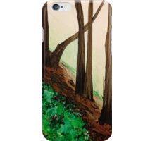 Castro Valley Trees at Lake Chabot iPhone Case/Skin