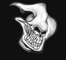 flaming death's head by Dalton Sayre