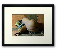 My Boring Still Life Photo Framed Print