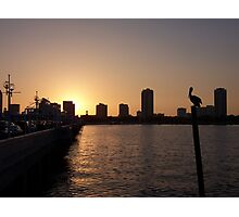 Sunset at St. Pete Pier Photographic Print