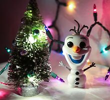 Olaf Christmas by garykaz