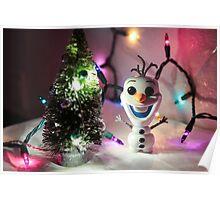 Olaf Christmas Poster