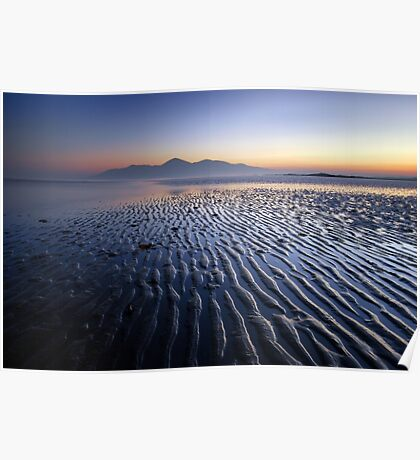 Mourne Ripple Poster