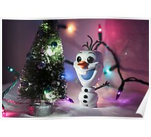 Christmas Olaf Frozen Poster