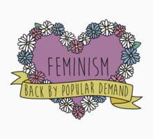 Feminism Flower: Back by Popular Demand by shebandit