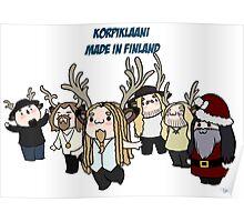 Korpiklaani, made in Finland. Poster