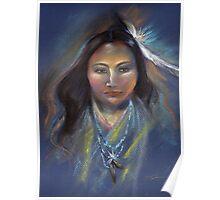 Native American woman Poster