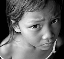 poverty strucken Philippino girl  by Amanda Modra