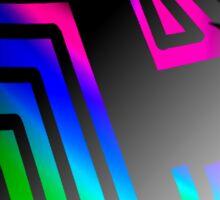 Neon Pastels Sticker