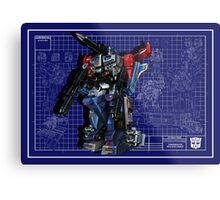 Powermaster Optimus Prime  Metal Print