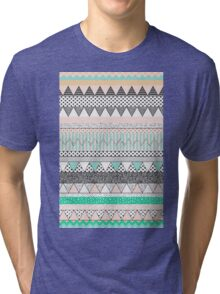 Tribal blue Tri-blend T-Shirt
