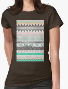 Tribal blue Womens Fitted T-Shirt