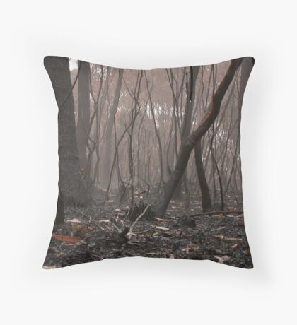 Mighty Fire Throw Pillow