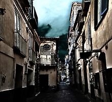Alleyway in Italy by BizziLizzy