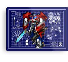 Beast Hunters Optimus Prime  Metal Print