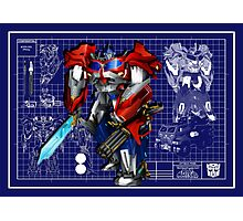 Beast Hunters Optimus Prime  Photographic Print