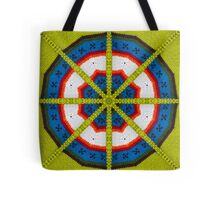 Knitted Target Tote Bag