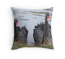 """""""We're Hungry!"""" Throw Pillow"""