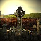 Celtic gravestone by karenlynda