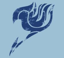 Fairy Tale Segmented Logo (Erza Scarlet) Kids Clothes