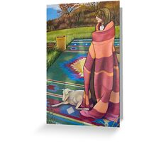 The Stripey Blanket Greeting Card