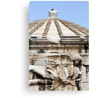 Tower of the Winds Canvas Print