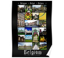 Belgium Collage Poster