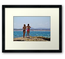 Sun -seekers Framed Print