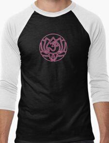 Lotus Om Yoga T-shirt Men's Baseball ¾ T-Shirt