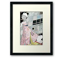 Woo Away Framed Print