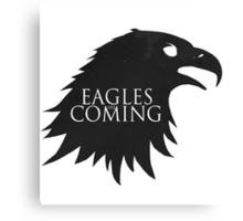 the Eagles are Coming ! Canvas Print