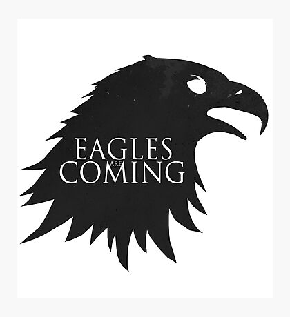 the Eagles are Coming ! Photographic Print