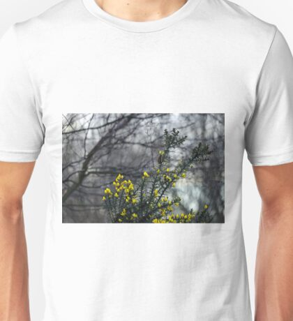 Common Gorse in the Woodland Unisex T-Shirt