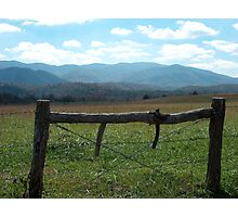 Cade's Cove Photographic Print