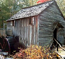 Cable Mill in Smoky Mountains by Danny Close