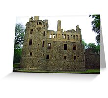 Huntly Castle Greeting Card