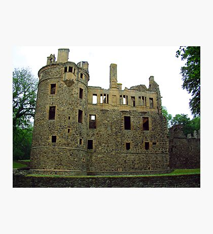 Huntly Castle Photographic Print