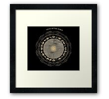 Smith's Illustrated Astronomy - Signs of the Zodiac - Page 18 Framed Print