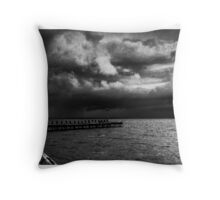 The Old Jetty Throw Pillow